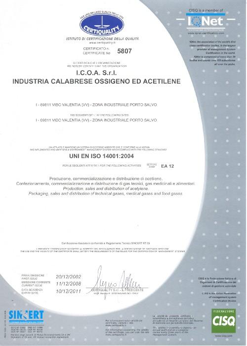 ISO 14001 a